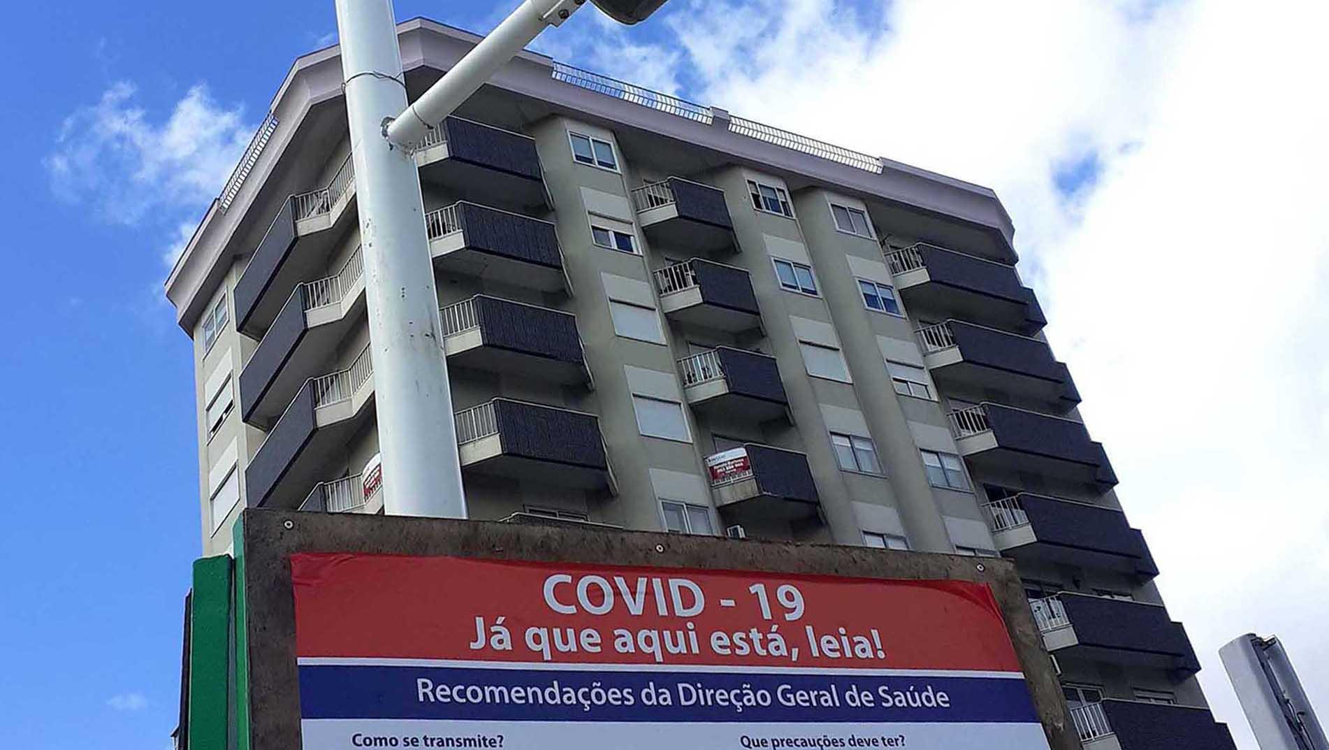 Covid-19: Almada registou 25 novos casos na última semana